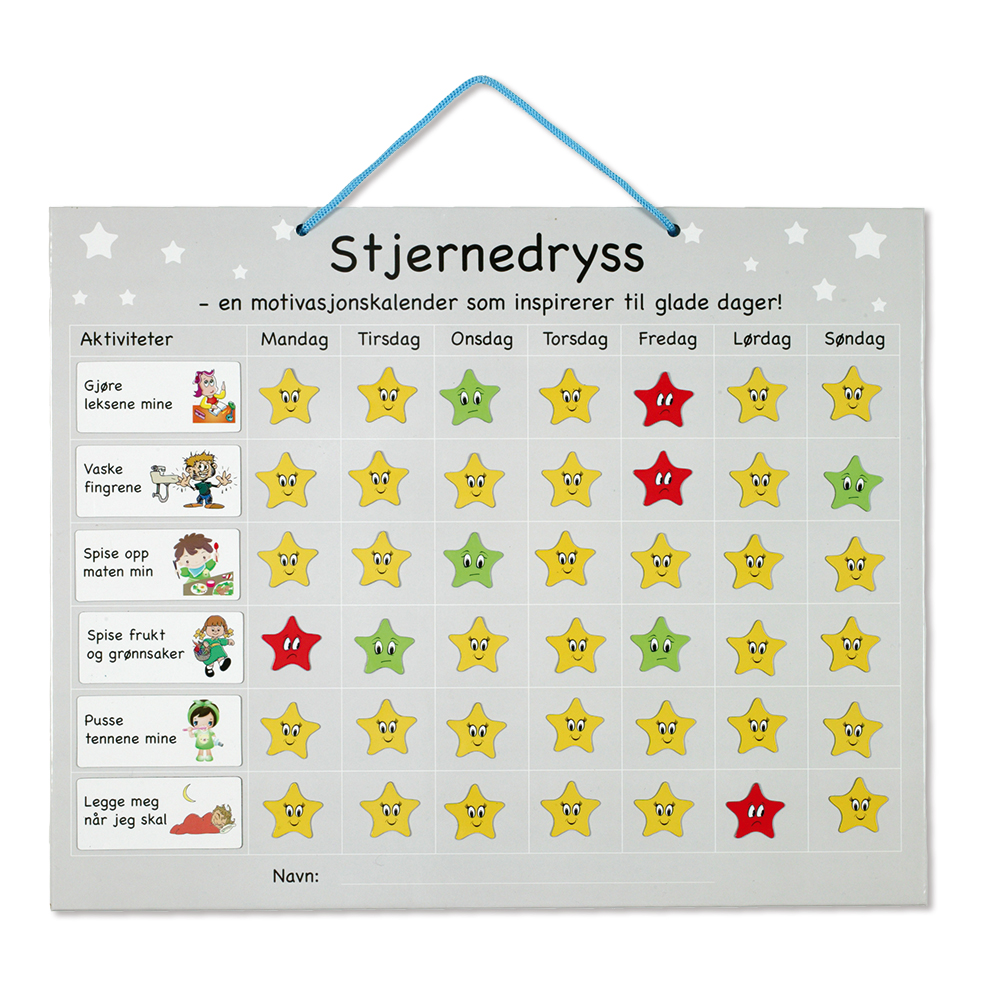 Stjernedryss - kalenderen, funker den?