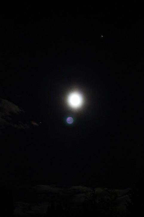 månen og mars